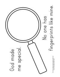 Vbs 2014 We Could Use This Template For A Magnifying Glass As A Prop For The Scavenger Hunt Theme God Made Me Preschool Crafts New Year Coloring Pages