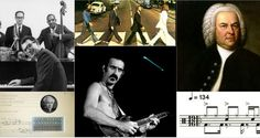 14 Musical Works in the most unusual time signatures...still contemplating Zappa (a musician in and out and beyond time)
