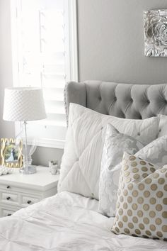 Master Bedroom tour from @abhdesigns.