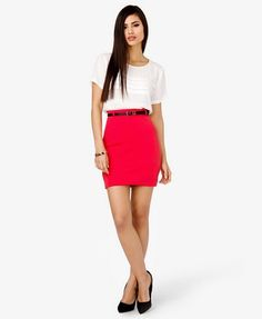 Pintucked Chiffon Top | FOREVER 21 - 2027704287