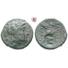 Syrien, Königreich der Seleukiden, Achaios, Bronze 220-215 v.Chr., ss: Achaios 220-215 v.Chr. Bronze 220-215 v.Chr. Sardeis. Kopf… #coins