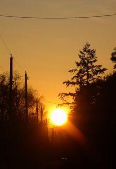 Sunrise to a beautiful day