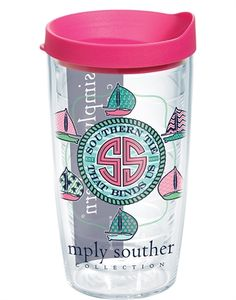 Tervis Simply Southern® Southern Tie 24 oz tumbler with lid