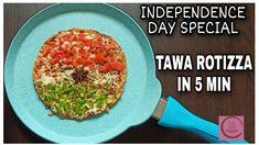Tiranga Rotizza l Tawa Roti Pizza By Cocktail l Independence Day Special... Independence Day Special, Pizza, Guacamole, Channel, Cocktails, Ethnic Recipes, Youtube, Crafts, Food