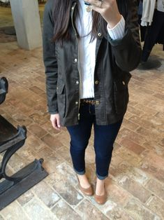 shepshirtsandpoppedcollars:    Taking pictures of my outfit in Anthropology. Oh just had lunch with Tommy Hilfiger?