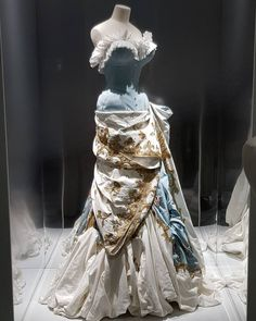 John Galliano for Christian Dior on Dior Exhibition in Museum des Arts Decoratifs,Paris