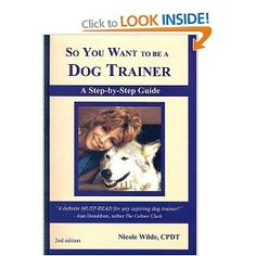 Advice, tips and insider secrets! What it's really like to train dogs and their owners. The financial potential of training dogs. How to get an education. How to set up your business. Effective print advertising. Creating a web site and attracting business. Teaching group classes. Teaching private lessons. Products and tools you should not be without. Phone tips. Safety tips. Trainer etiquette. Sample intake form, contract, press release …and much more!