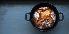 Sunn latmannsbakst – Eltefritt grovbrød med spelt – Lise von Krogh Cloud Bread, Iron Pan, Recipes, Food, Van, Artisan Bread, Lattices, Flourless Bread, Recipies