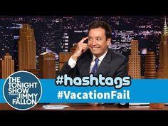 Funny Vacation Fail Hashtag By Jimmy Fallon - #JimmyFallon #funny #VacationFail