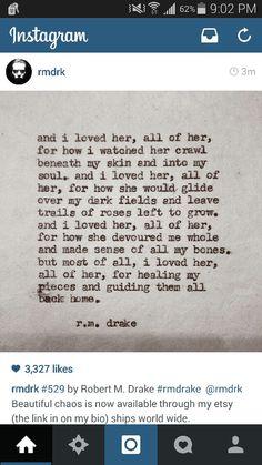 And I loved.... #rmdrake