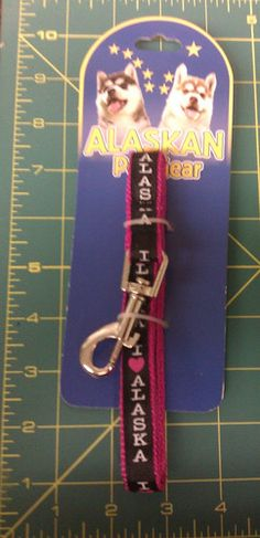 I heart Alaska small / medium dog leash
