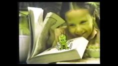 Honey Nut Cheerios commercial w/ girl and book (1981)