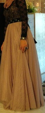 #Hijab Engagement Dress .