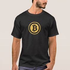 Bitcoin Crypto Currency Coin Symbol T-Shirt - tap, personalize, buy right now!