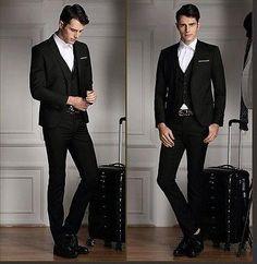 2015 Fashion Men Dark Red Tuxedo Black Peak Lapel Two Button Wedding Customized Best Prom Suits Black And White Attire From Jasondress, $83.77  Dhgate.Com