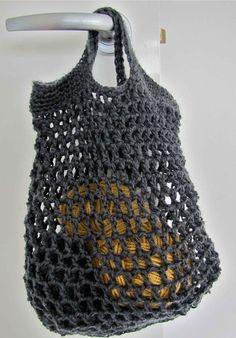 crochet shopping bag - Google Search