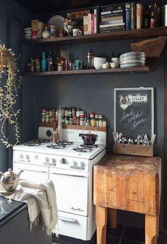 60 Best Industrial Kitchen Furniture Ideas  Industrial Kitchens Gorgeous Basic Kitchen Cabinets Review