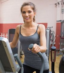 Cardio Workout: Elliptical Intervals With printable versions to take to gym. Perfect.