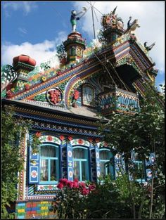 Russian house - wow, amazing!