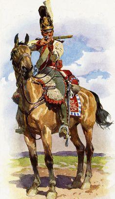 Trooper from 2nd Bavarian Dragoon Regiment von Taxis