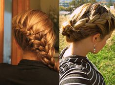 The braid breakdown- shows the difference between several types of braids: French, inverted, fishtail, waterfall, etc.