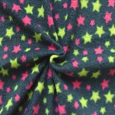 #Stars auf kuschligem Fleece