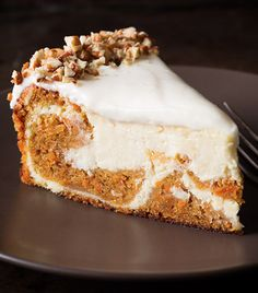 This Carrot Cake Cheesecake is an easy copycat recipe from the Cheesecake Factory that you'll . Don't miss the icious moist 'To Die For Carrot Cake' too!