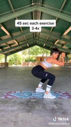 Gym Workout Videos, Boxing Workout, Butt Workout, Easy Workouts, At Home Workouts, Glute Workouts, Home Exercise Program, Musa Fitness, Prenatal Workout