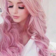 Image via We Heart It #pinkhair