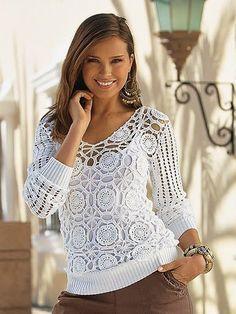 Todo para Crear ... : blusas en crochet
