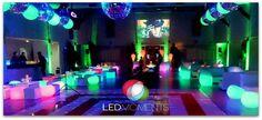 #LEDMOMENTS en un cumple de 15 muy dulce!!!...La imaginación no tiene fronteras!!! LED MOMENTS #charlieylafabricadechocolates