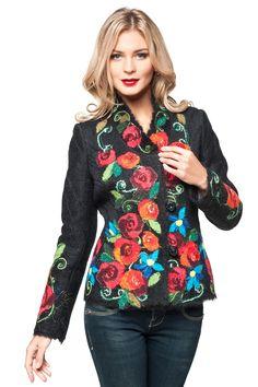 """Жакет """"Олеся"""" - Юкостайл. Магазин дизайнерской одежды оптом и в розницу."""