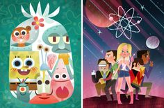 [ More Inspiration ] Joey Chou's Colorful World is the artwork featured on the blog today! ~ www.thebakingideas.com