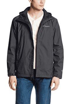 Columbia Men's Watertight II Front-Zip Hooded Rain Jacket Front-zip waterproof rain jacket with zippered side-entry pockets at hips Drawstring hood and hemline Baby Raincoat, Raincoat Jacket, Yellow Raincoat, Hooded Raincoat, Hooded Jacket, Raincoats For Women, Jackets For Women, Best Waterproof Jacket, Packable Rain Jacket