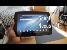 Đánh giá nhanh thiết kế máy tính bảng Google Nexus 10 - Fptshop.com.vn