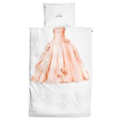 Princess gown duvet and crown pillowcase | Snurf - NEED