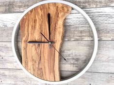 Large Wood Wall Clock Unique Wall Clock Wood Wall Art Office Wall Decor Rustic Clock Housewarming Gift The post Large Wood Wall Clock Unique Wall Clock Wood Wall Art Office Wall Decor Rust appeared first on Gift for Boyfriend. Wall Clock Wooden, Diy Wood Wall, Wooden Wall Decor, Wood Clocks, Rustic Wall Decor, Rustic Walls, Wooden Walls, Rustic Clocks, Rustic Wood