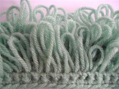 Crochet Spot » Blog Archive » How To Crochet: Loop Stitch - Crochet Patterns, Tutorials and News