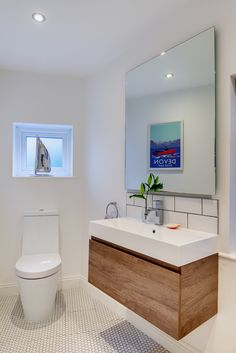 #modernbathroom #ensuite #bathroomidea #bathroomdecor #bathroomideas #seasidebathroom #coastalhome #seasidehome #modernsink #washroom #showerroom #wetroom #loo #toilet Modern Sink, Modern Bathroom, Seaside Bathroom, Budleigh Salterton, Interior Architecture, Interior Design, Truro, Wet Rooms, Washroom