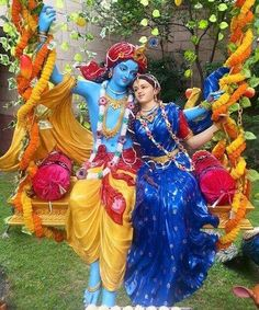 Jhulan Yatra Radha Krishna Pictures, Radha Krishna Photo, Krishna Photos, Krishna Art, Yashoda Krishna, Radhe Krishna, Hindu Deities, Hinduism, Lord Krishna Hd Wallpaper
