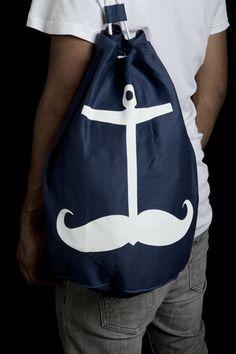 Movember Seesack bag / by Stadtpirat