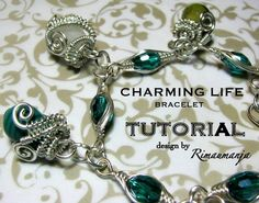 Charming Life Bracelet Tutorial by rimaumanja on Etsy, $8.00