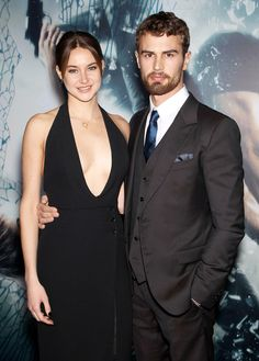 Shailene Woodley & Theo James Stun at Insurgent Premiere, Ansel Elgort Talks Chipotle-Catered Birthday Bash  Shailene Woodley, Theo James