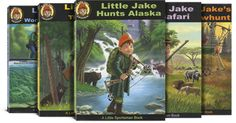 Big Adventures with Little Jake Series (5 Books) For my 3 year old hunting enthusiast... $67.50 :D