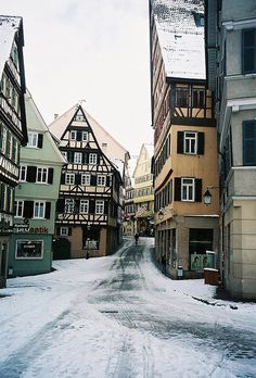 itstimetotravel:packlight-travelfar:Tübingen, Germany 2006 by...