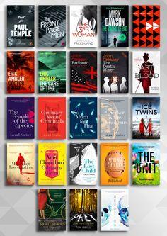 A handful of covers I've designed throughout 2015.  #StuartBache #Books #Design