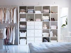 Brilliant Bedroom Storage Idea 53 Créer Son Dressing, Dressing Maison,  Rangement Dressing, Dressing