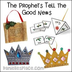 christmas crafts the prophets tell the good news bible lesson crafts for sunday school from