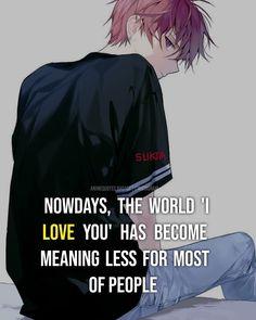 Sad Anime Quotes, Manga Quotes, True Quotes, Words Quotes, Negativity Quotes, Normal Quotes, Lion Quotes, Dark Angels, Romantic Pictures