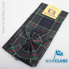 Colquhoun Modern Tartan Mini Sash. Free worldwide shipping available